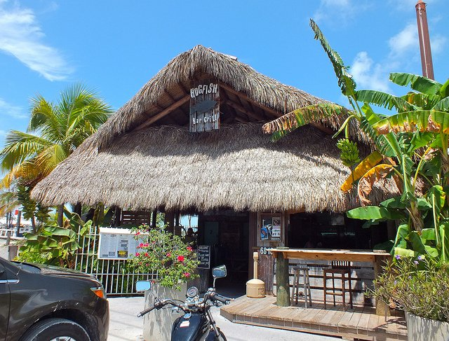 Hogfish Bar and Grill on Stock Island near Key West