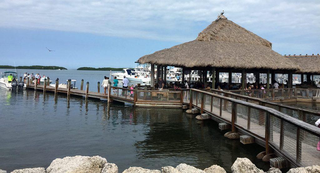 Islamorada Fish Company in the Florida Keys