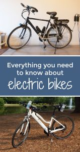 Everything you need to know about electric bikes from #WanderingRoseTravels