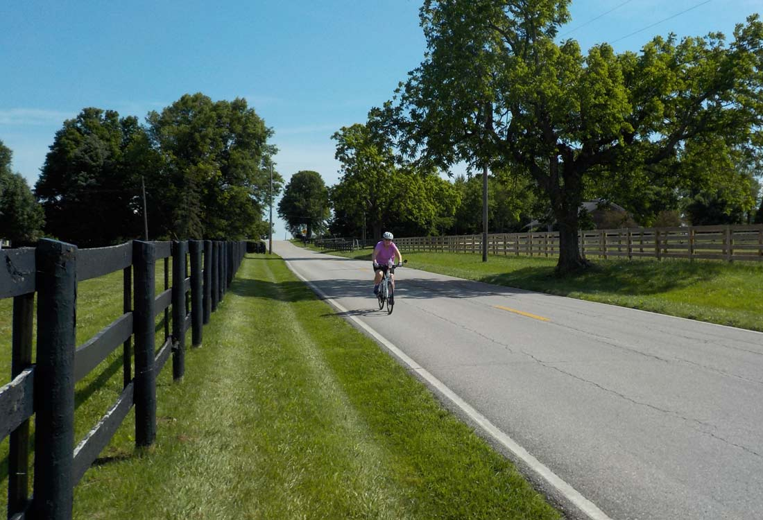 Bicycle Kentucky Bourbon Trail Horse Country