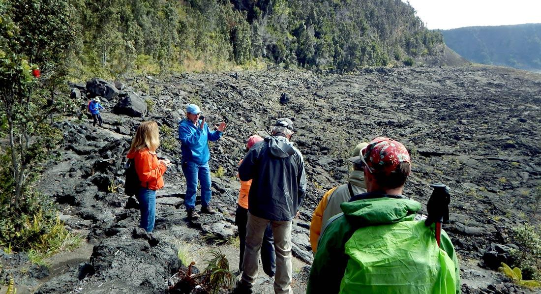 Hiking Hawaii volcanoes