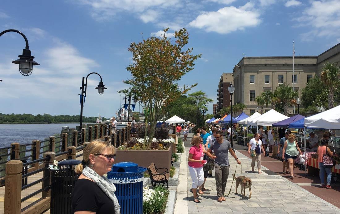 Wilmington, NC riverwalk