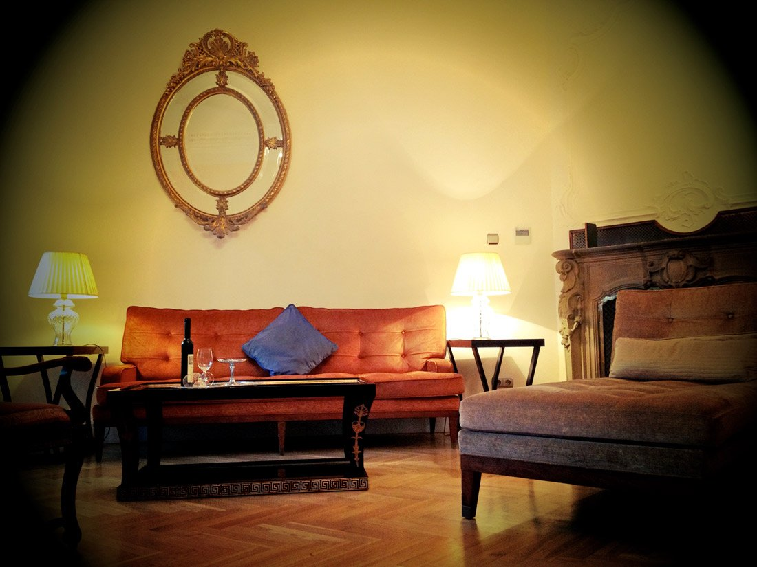 Smetana Hotel's President Havel Suite