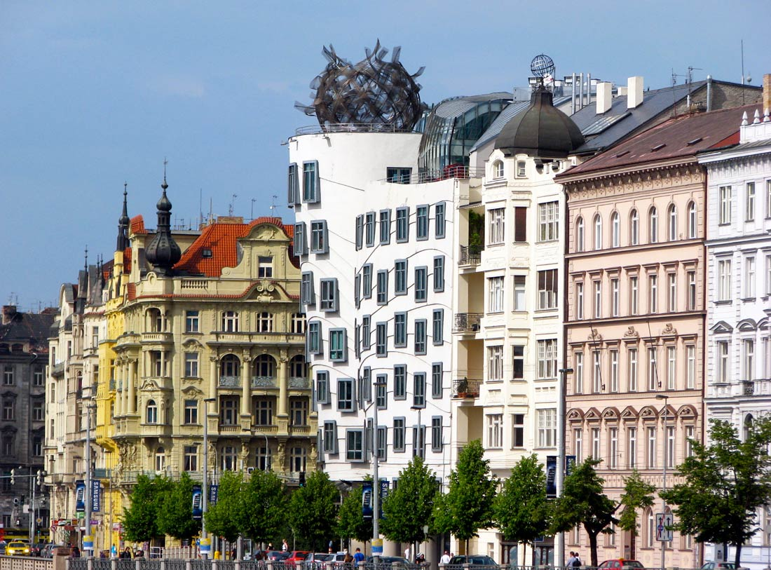 Visit Prague: New town dancing house