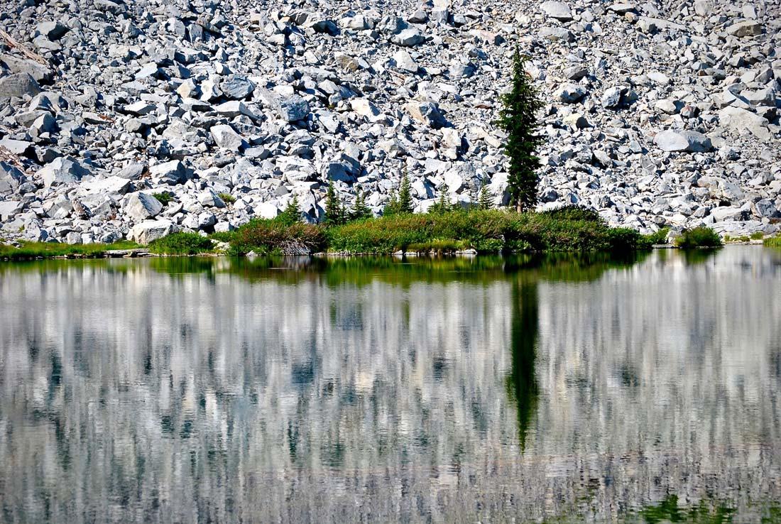Cliff Lake, Lassen Volcanic national park