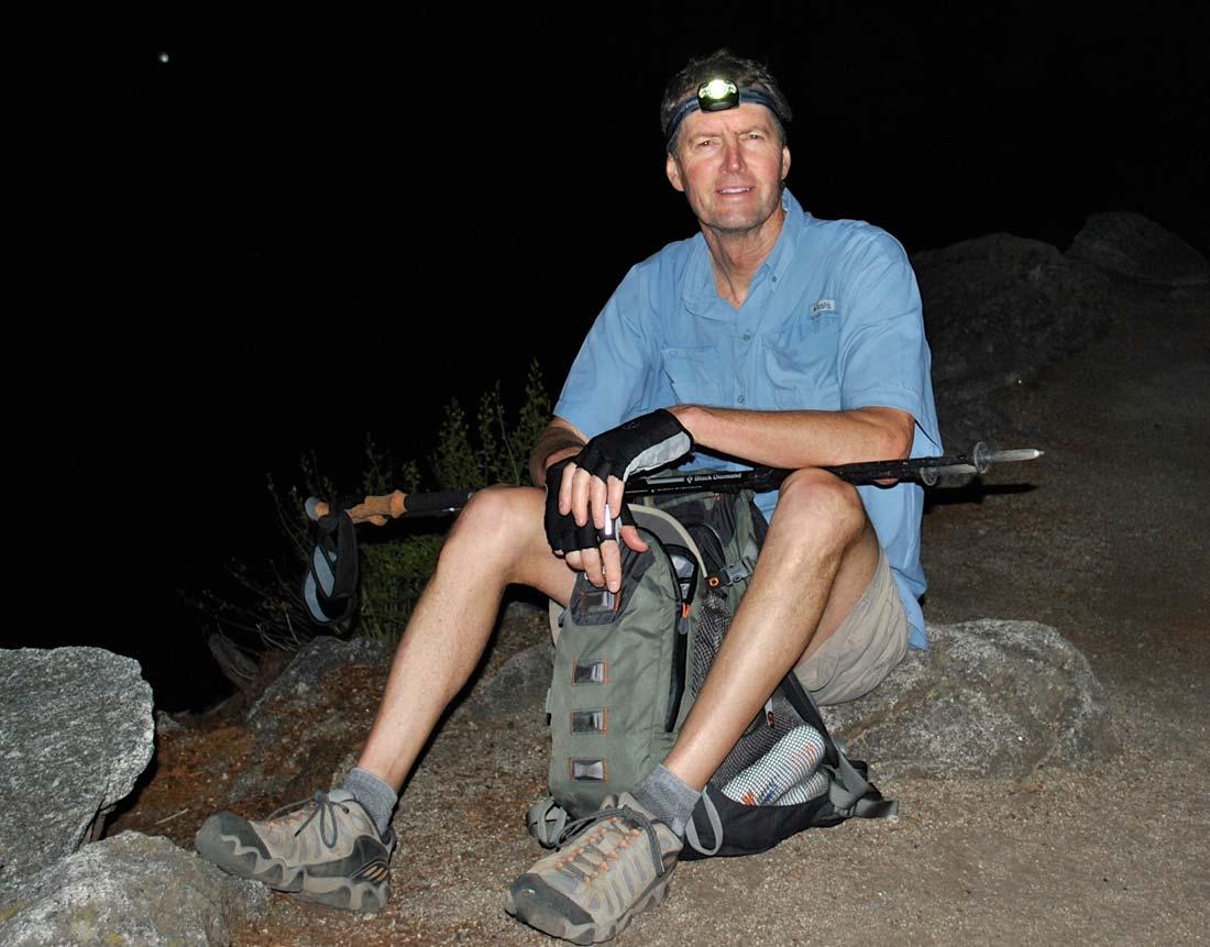 hiking gear headlamp active senior travel