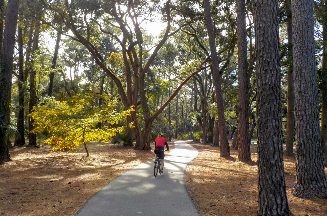 Hilton Head Island 100 miles trail