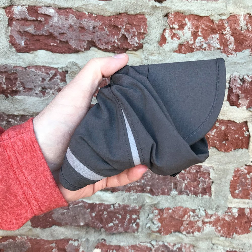 Folding baseball cap