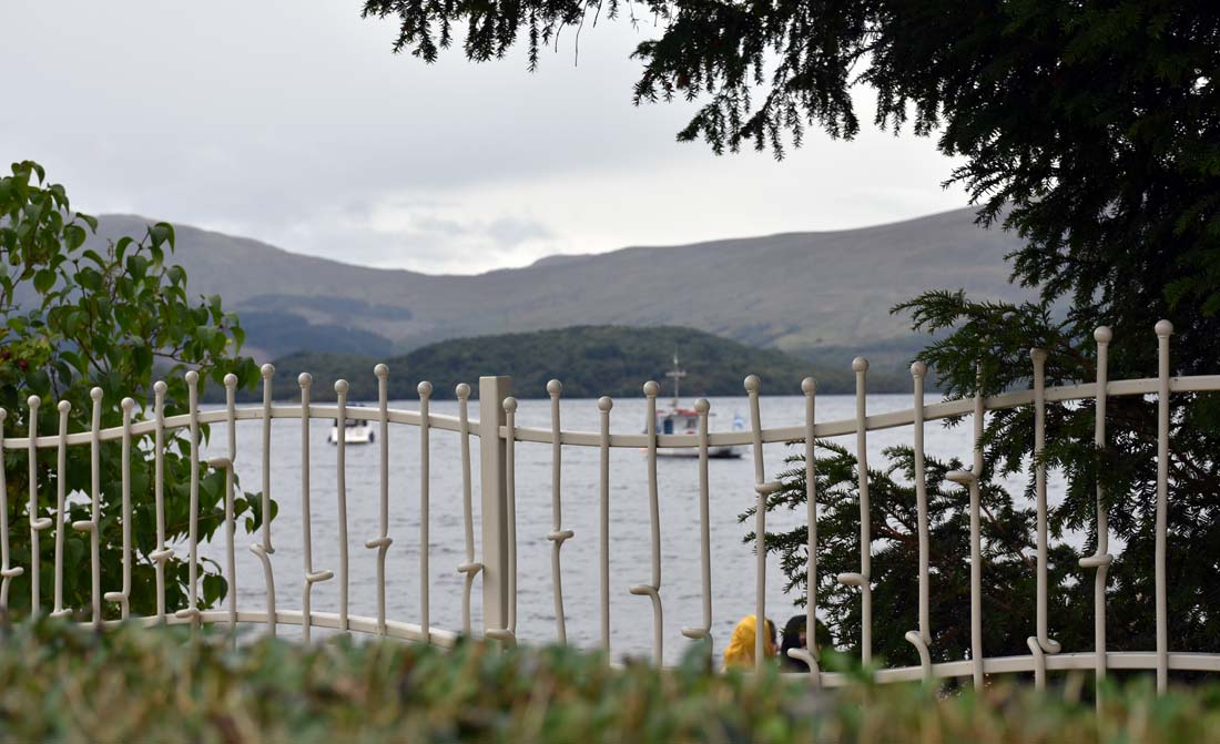 The beautiful village of Luss is a great place to take boat tours of Loch Lommond.