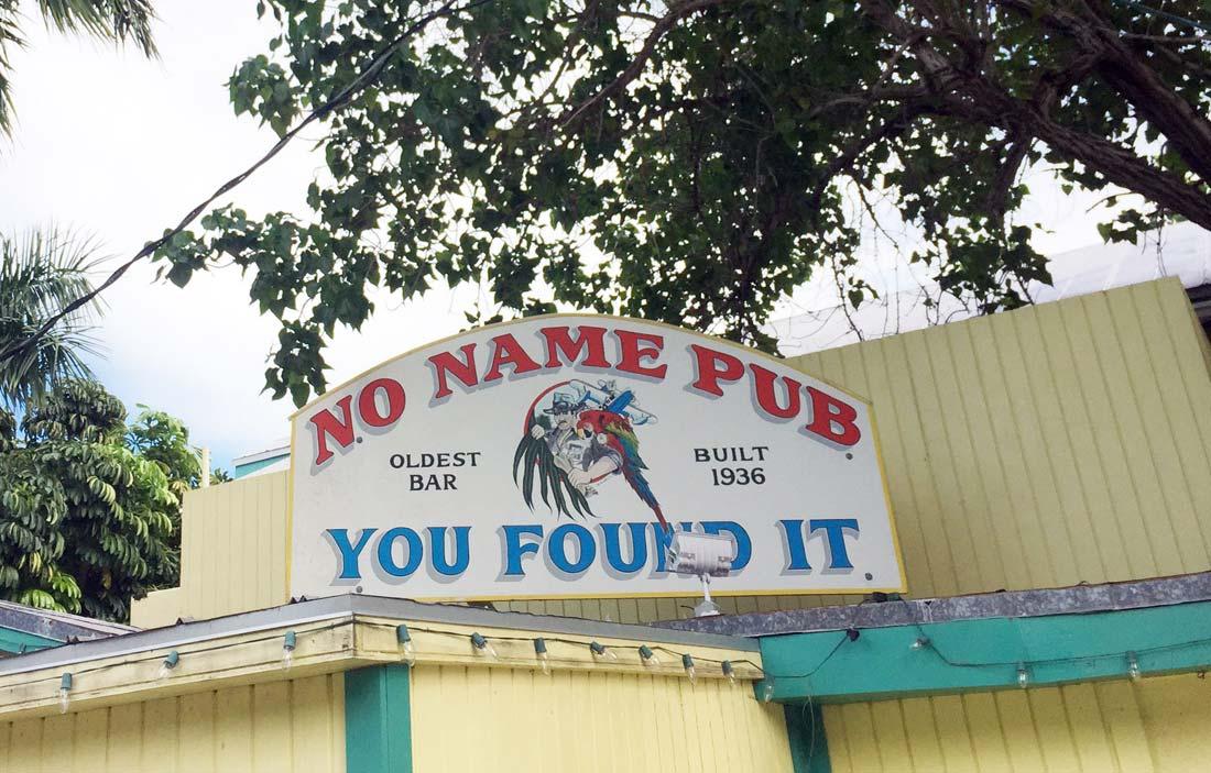 No Name Pub Bicycle Florida Keys