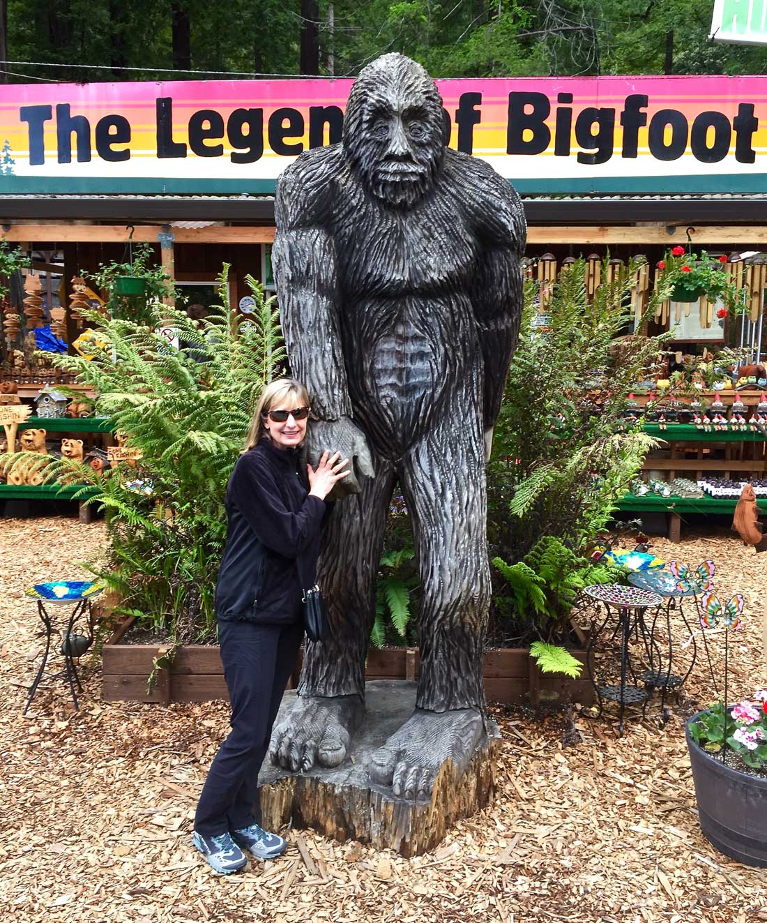 California's Legend of Bigfoot quirky places