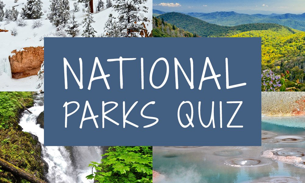 National parks quiz