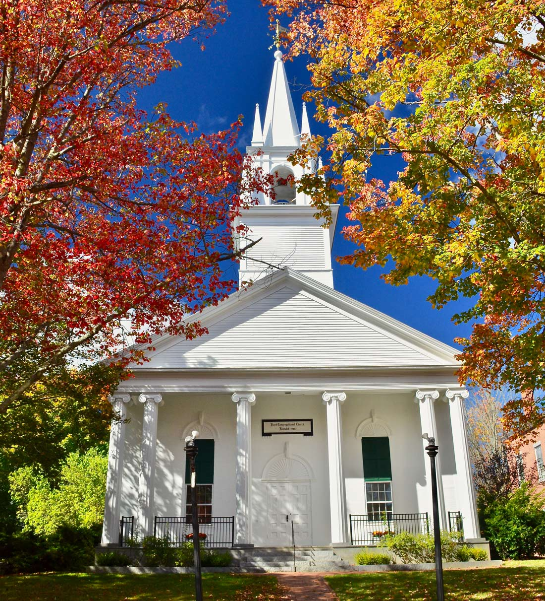 Portland's historic First Congregational Church.