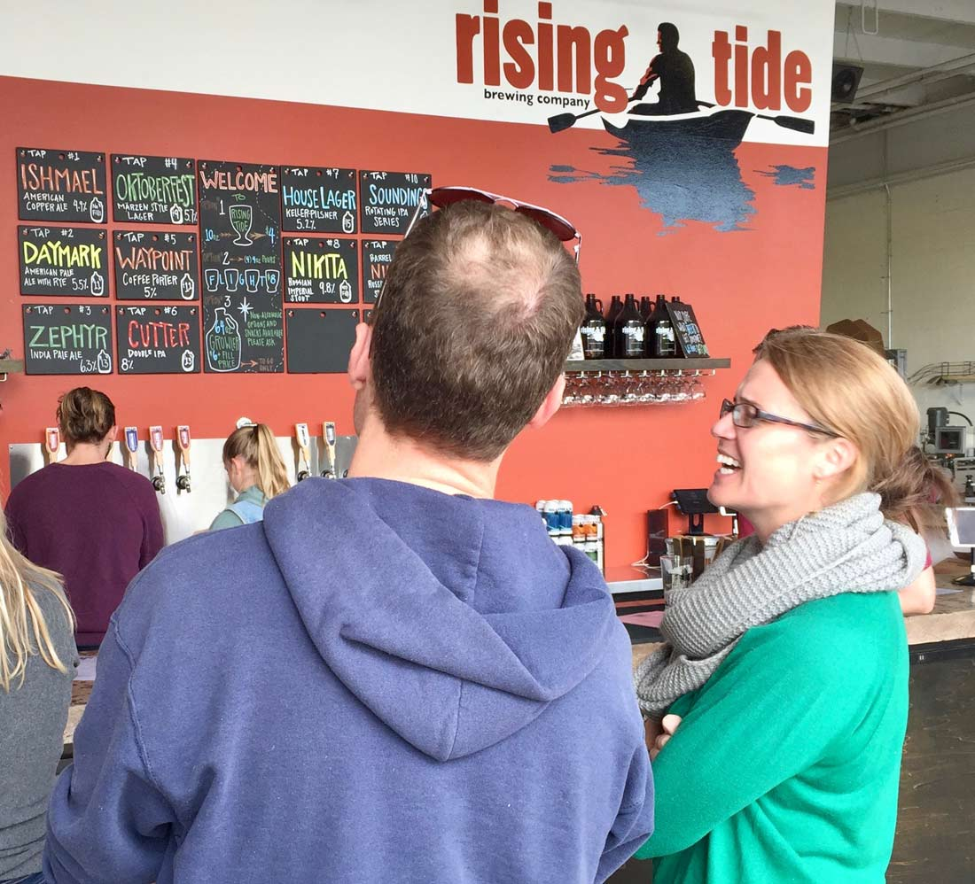 Rising Tide Brewing Company in Portland, Maine