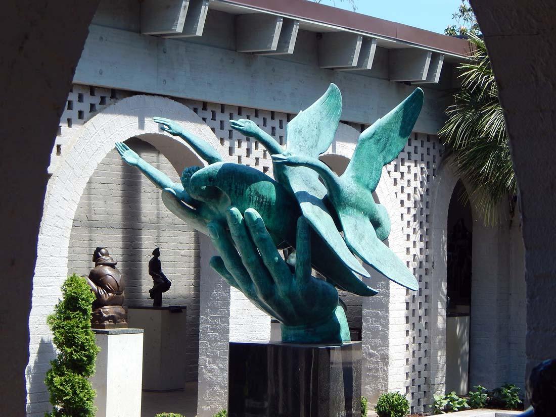 Brookgreen Gardens largest outdoor sculpture Garden U.S.