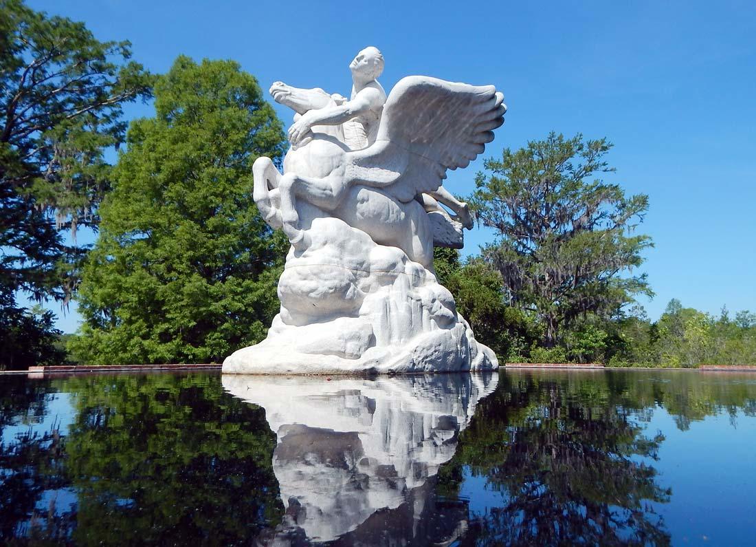 Brookgreen largest outdoor sculpture garden U.S.