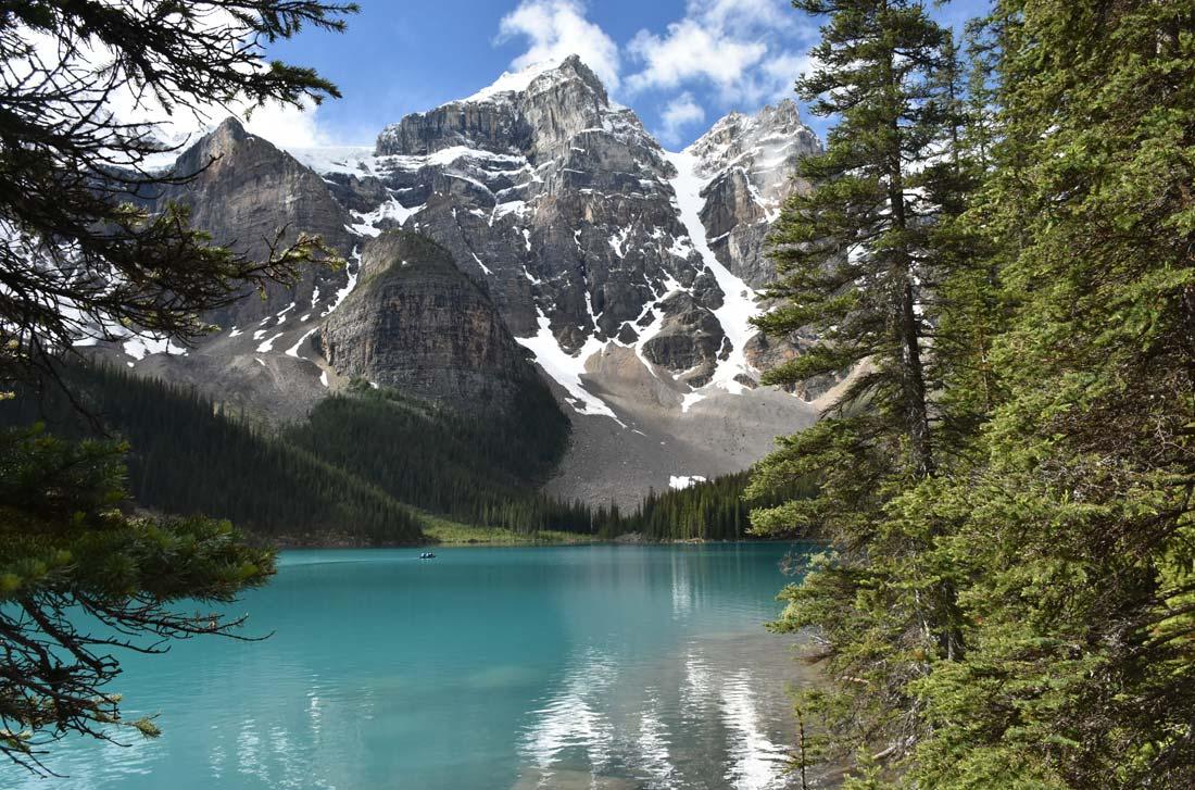 Driving Canadian Rockies