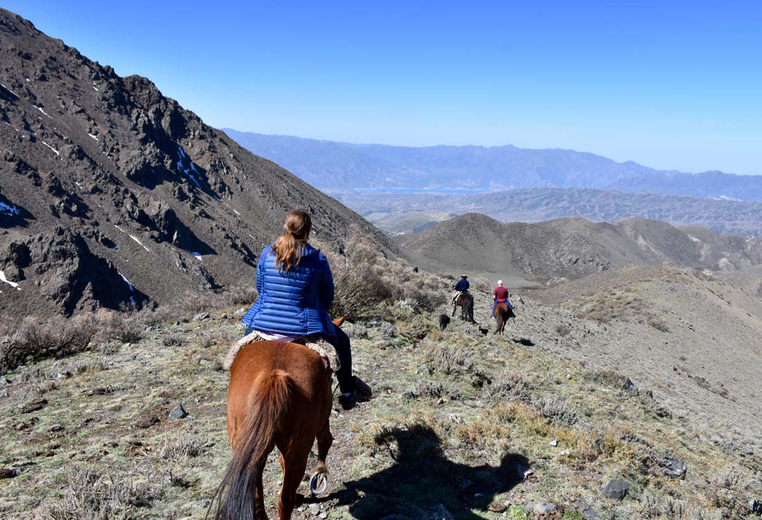 Andes Mountains horseback riding