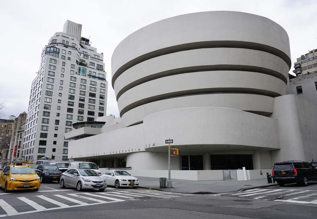 Frank Lloyd Wright-designed Guggenheim Museum