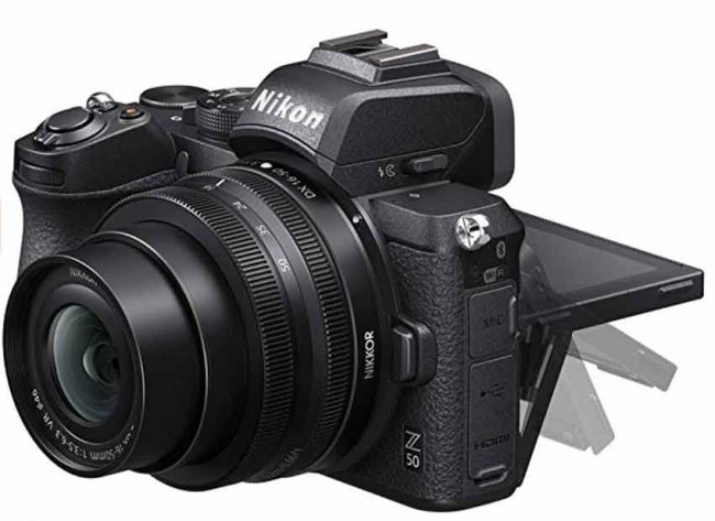 nikon z50 mirrorless travel camera best