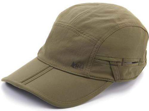 REI folding hat
