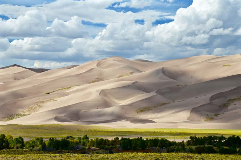 In what state is Great Sand Dunes National Park located?