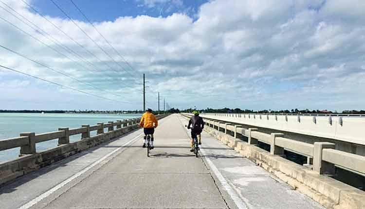 Bike Florida Keys bridges