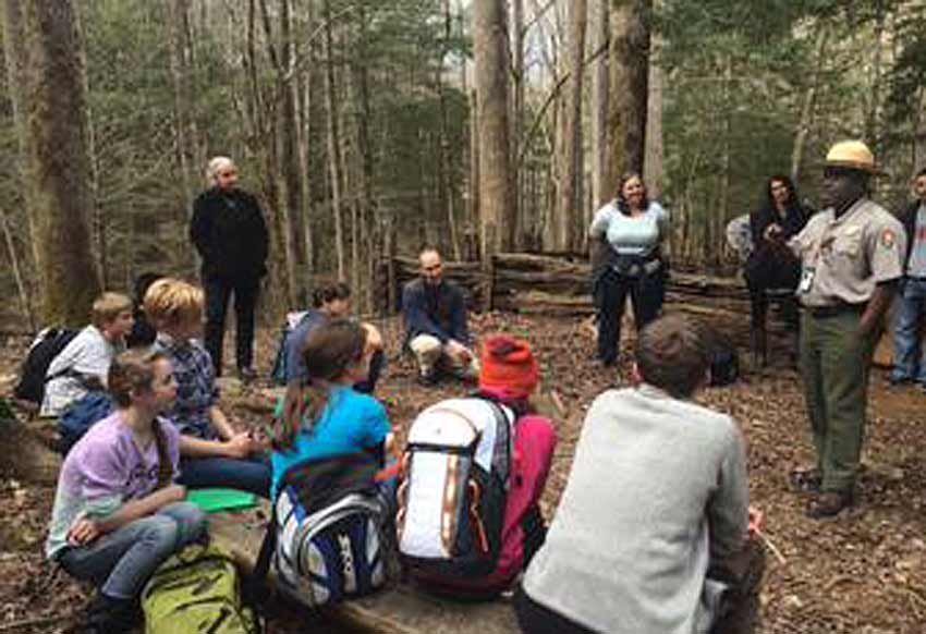 school groups visit smokies great smoky park
