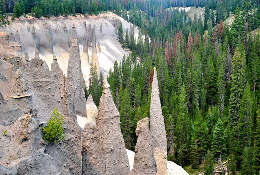 Crater Lake Pinnacles