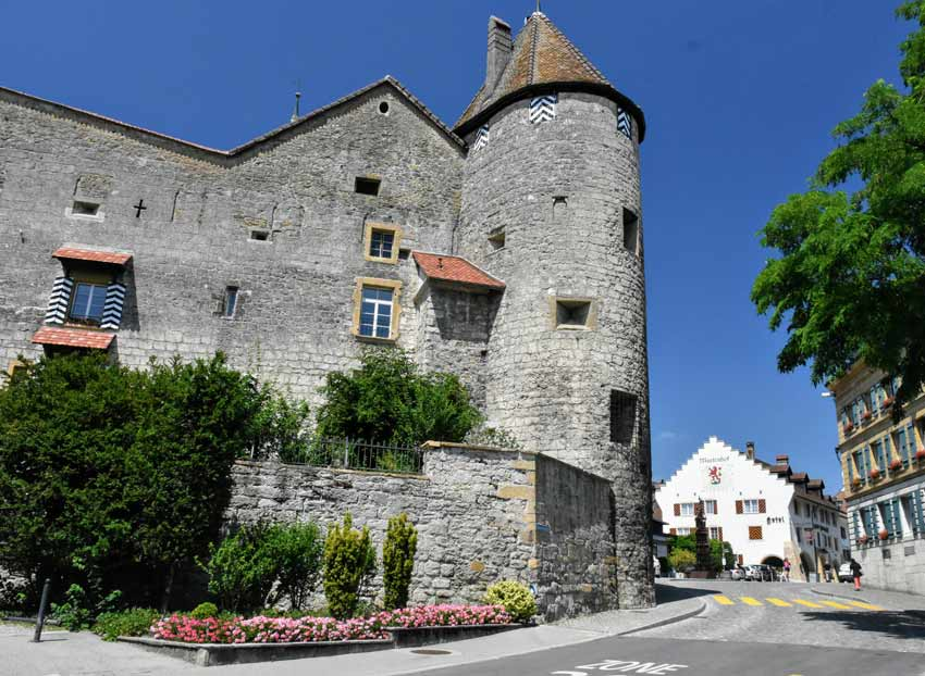 Murten Castle things do Bern Switzerland