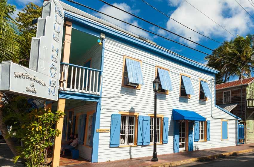 Best restaurants in Key West ratings Blue Heaven