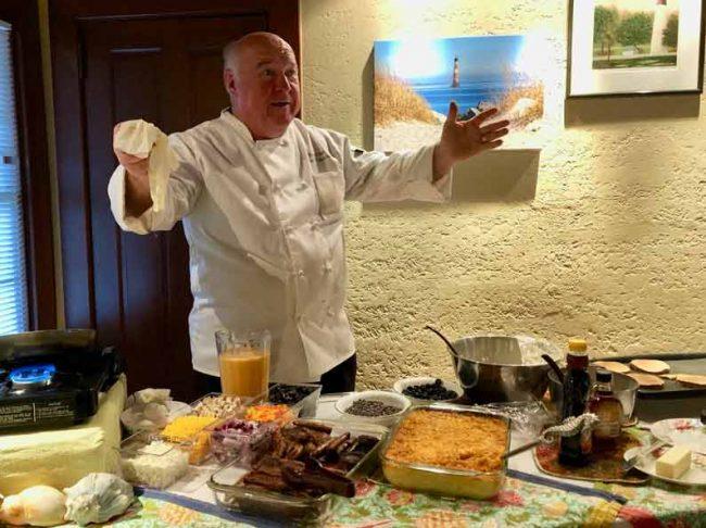charleston bulls head island chef