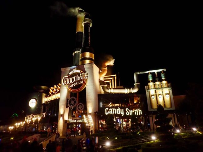Universal City Toothsome Chocolate Emporium