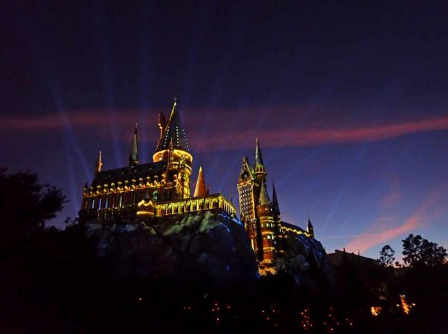 Universal Studios Harry Potter Castle