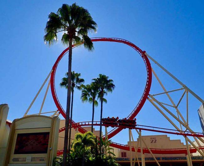 Universal Studios Rollercoaster