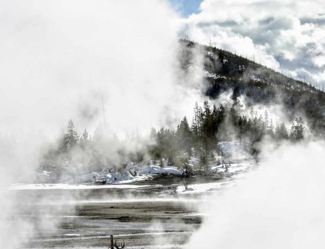 yellowstone national park best winter hikes hiking