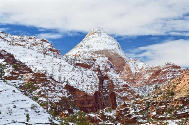 Timing is everything. We love Zion in winter, when visitation in low.