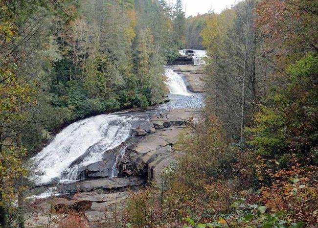 Dupont Forest North Carolina best hike triple falls